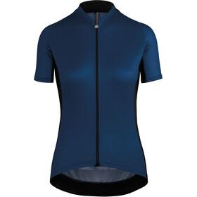 assos UMA GT - Maillot manches courtes Femme - bleu noir 539c37b82212
